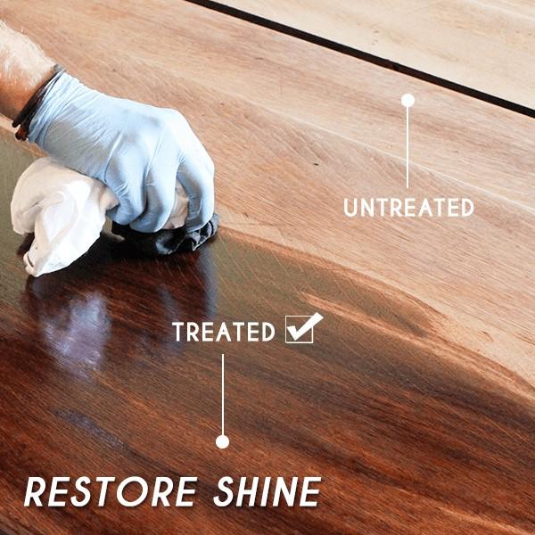 Potrivită pentru toate tipurile de suprafețe din lemn image