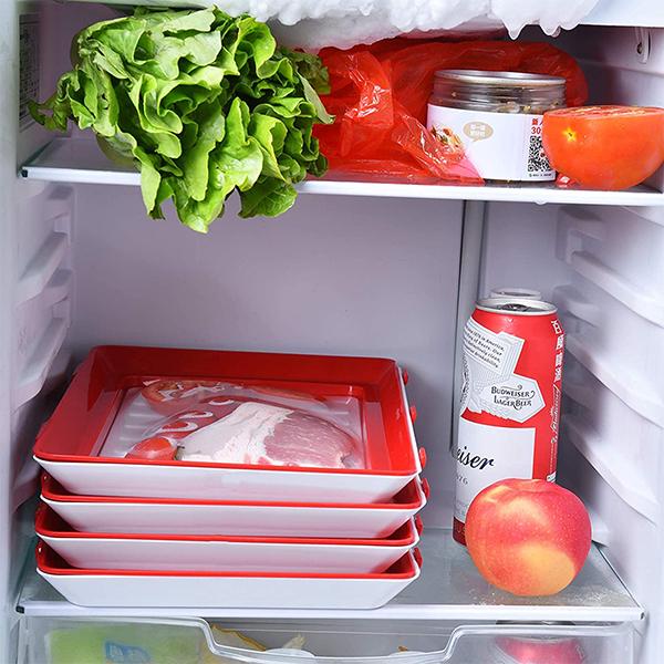 Potrivită pentru cuptorul cu microunde, frigider sau congelator image